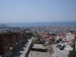 uitzicht over de stad
